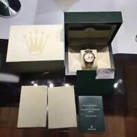Rolex Datejust for Man. Solid 18K gold and Stainless steel.
