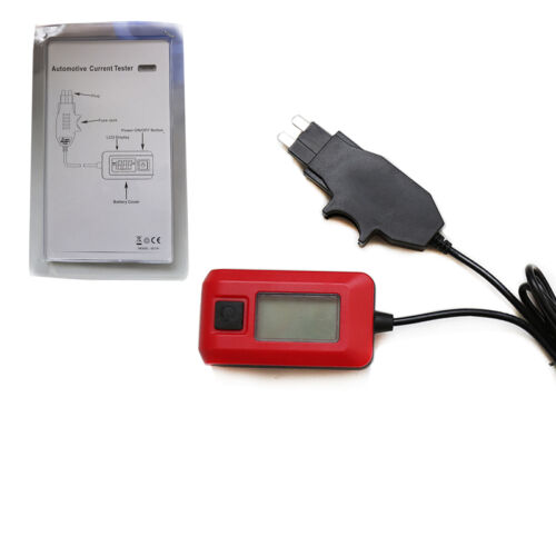 Electrical Current Tester : Automotive electric current tester by fuse galvanometer