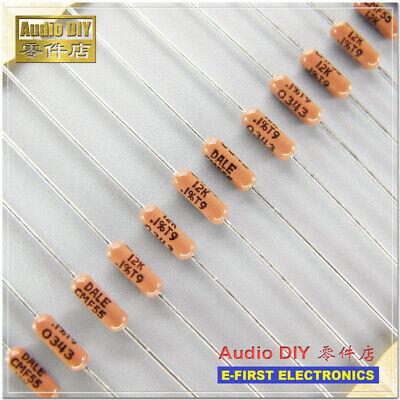 30pcs Dale Cmf55 Rn55e 12k0.25w 0.1 25ppm Metal Film Resistor