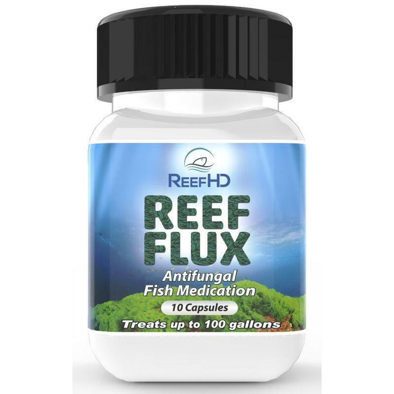 REEF HD - REEF FLUX REMOVES FISH INFECTIONS ALGAE BRYOPSIS CAULERPA GREEN HAIR