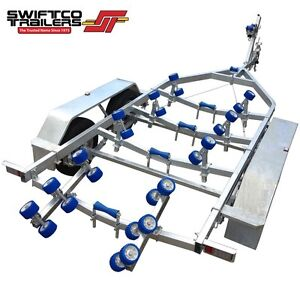 Swiftco 5.5 Metre Boat Trailer (Rated to 2000kg) Buy fr $5.27 day Molendinar Gold Coast City Preview