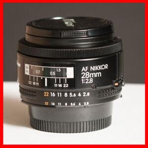 0/10 condition Nikon NIKKOR 28mm f/2.8 AF Lens. $200 firm