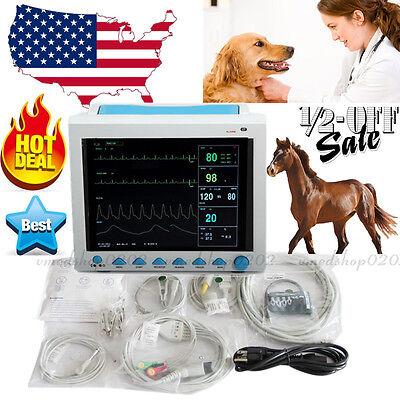 Contec New Vet Veterinary Patient Monitor Icu Vital Signs 6-parameterusa Fedex