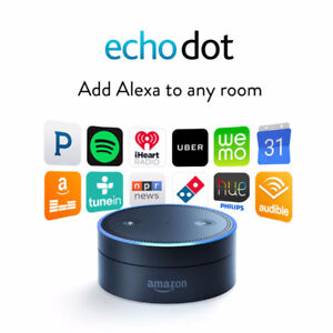NEW! Echo Dot (2nd Generation) - Black in Box for $60 OBO