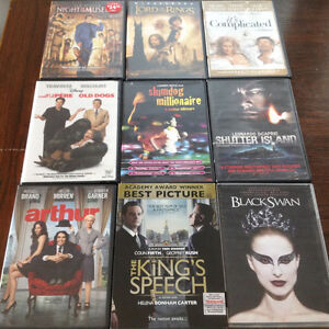 VARIETY OF DVD MOVIES (9 PACK)