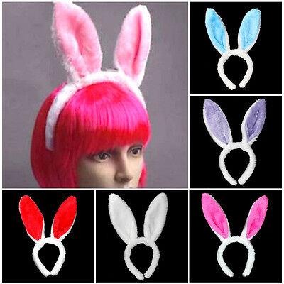 Haarschmuck Haarband Bunny Hasenohren Stirnband Kostüm Cosplay Mädchen Geschenke