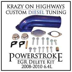 Ford Powerstroke EGR Delete Kit (2008-2010 6.4L)