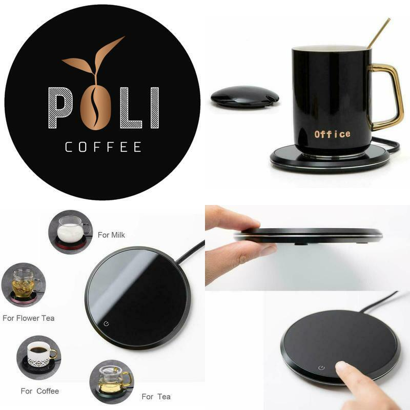 Electric Coffee Mug Warmer Heater Waterproof Design Two ...