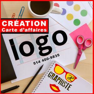 Carte d'affaires Premium, Logo, Infographie, graphisme, site we