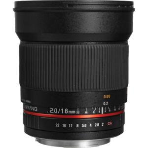 Samyang 16mm f 2.0 - CANON EF APS-C - Ultra wide angle (Rokinon)