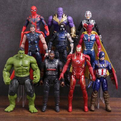 Transformation Avengers Infinity War Spiderman Thanos Hulk Action Figure Toys](Kid Hulk Transformation)