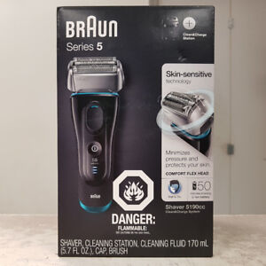 Braun 5190cc Wet & Dry Electric Foil Shaver