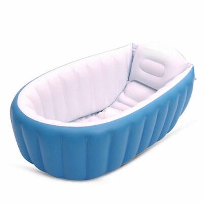 New Baby Kids Toddler Inflatable Bathtub Newborn Thick Bath Tub Summer Portable