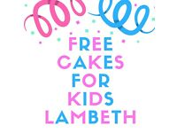 Volunteer bakers required for Free Cakes for Kids Lambeth scheme