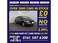 Honda Civic I-Vtec S Hatchback 1.3 PETROL GOOD/BAD CREDIT CAR FINANCE