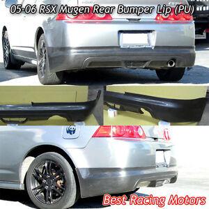 Mu-gen Style Rear Lip (Urethane) Fits 05-06 Acura RSX 2dr ...