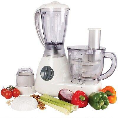 Deluxe Food Processor and Blender, Chopper, Grinder, Slicer, Grater, Mixer