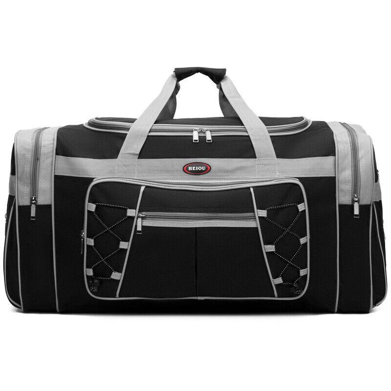 Gym Sport Bag Waterproof Overnight Travel Duffle Carry On Luggage Handbag US Bags