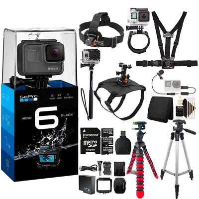 Gopro Hero6 Black Action Camera With Accessory Bundle