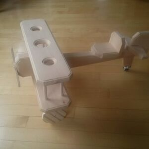 Hand-crafted wooden biplane St. John's Newfoundland image 2