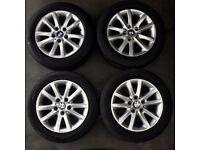 "Set of 4 16"" Genuine BMW Style 136 Alloy Wheels"
