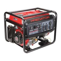 PREDATOR 7000/8750 WATT GENERATOR, NEW BROKEN IN 9.5 hours