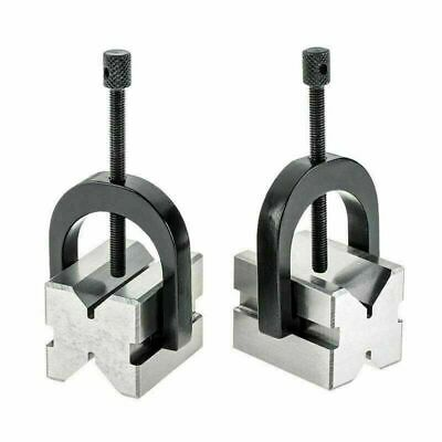 Precision V-block Set 50 X 38 X 38 With 2 Blocks 2 Clamps