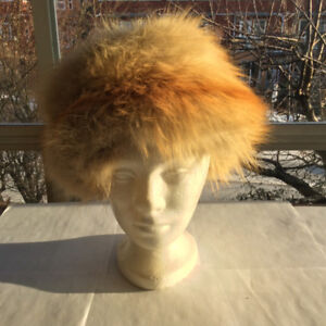 Vintage: Cossack Styled Red Fox Fur Hat