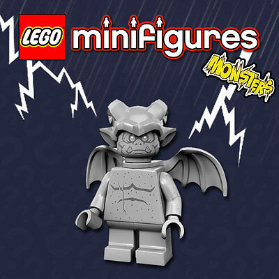 LEGO Minifigures #71010 - Halloween / Monsters - Gargoyle / Gargouille - Sealed