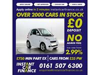 Smart fortwo 1.0mhd ( 71bhp ) Softouch 2011MY Pulse FROM £25 PER WEEK