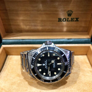 Vintage Rolex Submariner Ref.5513 Year 1968