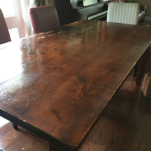 Dining Table - Solid Reclaimed Wood