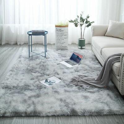 ggy Teppiche Langflor Uni Farben Wohnzimmer Pflegeleicht ZXL (Rosa Teppich)