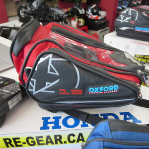 Oxford Motorcycle Quick Release Tank Bag 3 Different Styles