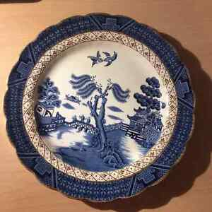 China, Real Old Willow, Booths, Plates London Ontario image 1