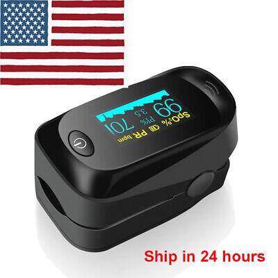 Finger Pulse Oximeter Blood Oxygen Saturation Spo2 Pr Monitor Fingertip Fda Ce