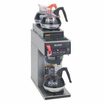 Bunn Cwtf15-3 Medium Volume Decanter Coffee Maker - Automatic 3.9 Galhr120v