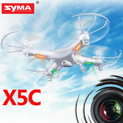 Upgraded Syma X5C-1 2.4Ghz 6-Axis Gyro RC Quadcopter Drone UAV RTF UFO HD Camera