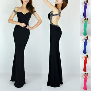 2014-CHEAP-Sexy-Mermaid-Style-Evening-Party-Gown-Bridesmaid-Long-Prom-Dresses