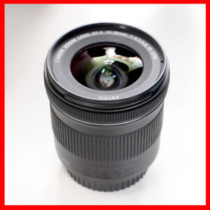 Canon 10-18mm F4.5-5.6 STM super wide angle lens