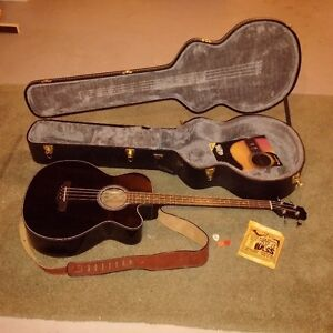 Takamine GB30CE Acoustic-Electric Bass Guitar Black