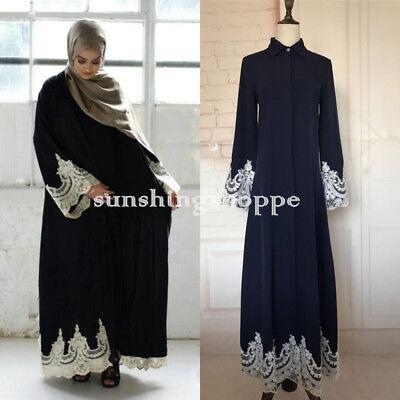 NEW Dubai Style Abaya Wedding Caftan Burkha farasha Jalabiya Maxi Dress Kaftan