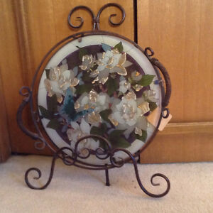 Decorative Stained Glass Serving Tray