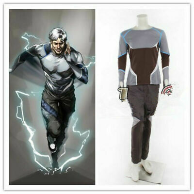 Avengers Quicksilver Costume (Hot!!! Avengers Age of Ultron Quicksilver Cosplay Costume)