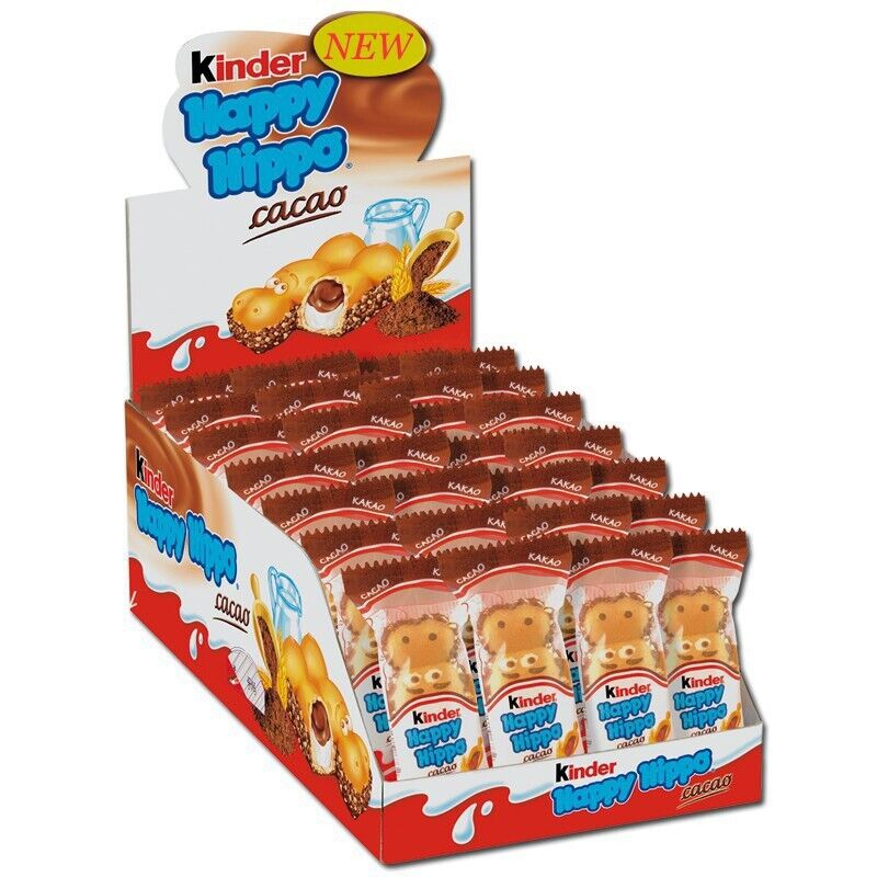 Happy Hippo Kinder Box 28 pcs