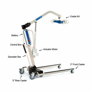INVACARE Reliant 450-1 Battery Powered Patient Lift w/sling