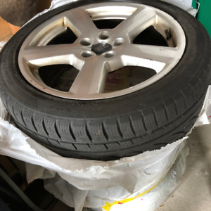 225/45R17 Audi A4 WINTER TIRES Rims on