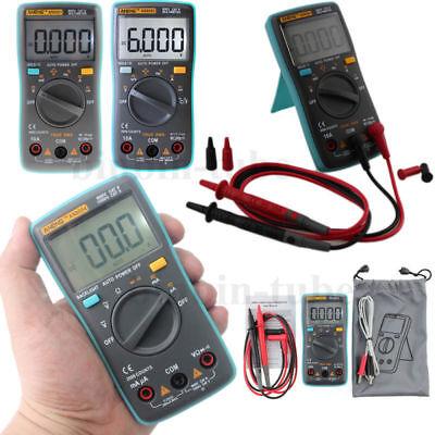 Digital Lcd Multimeter Backlight Acdc Auto Range Ohm Ammeter Temperature Tester