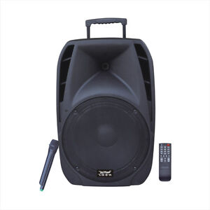 """Speaker 12"""" with rechargeable battry-in box with warranty-$229.9"""