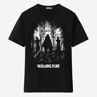 The Walking Dead Michonne Walkers Men's T-Shirt Costume Short Sleeve Cotton Tee